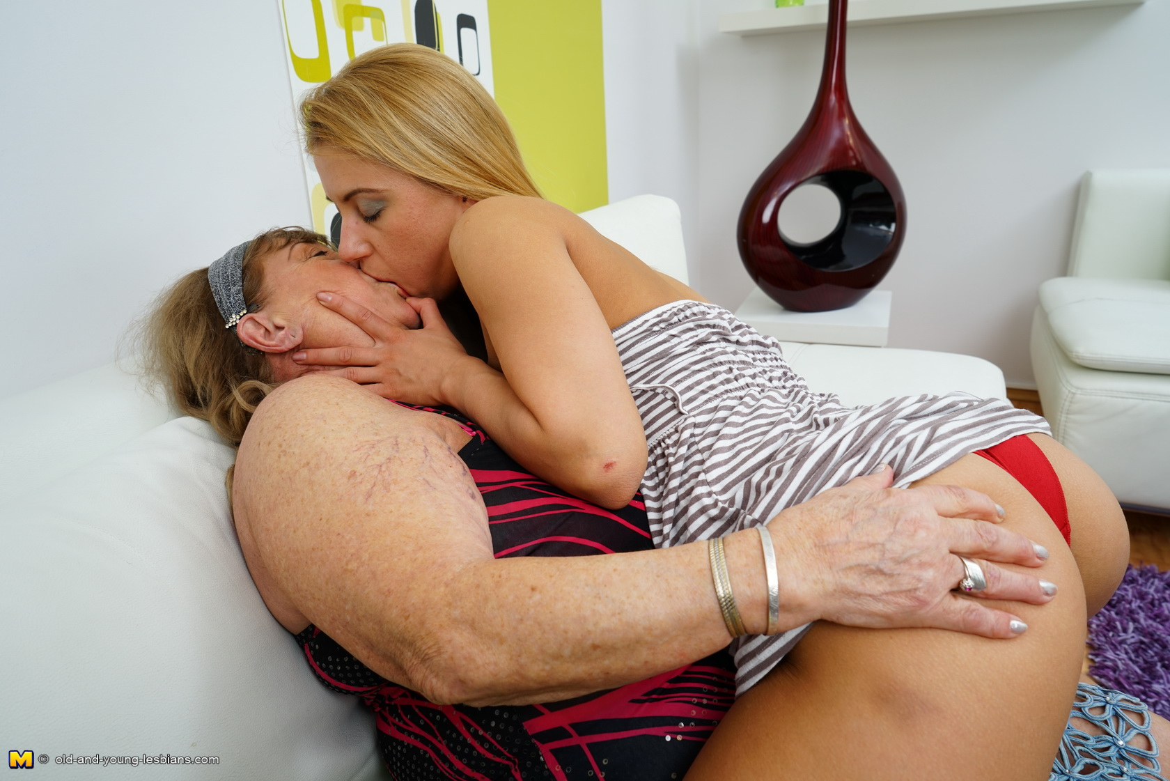 2 Big Tit Lesbians 1 Guy